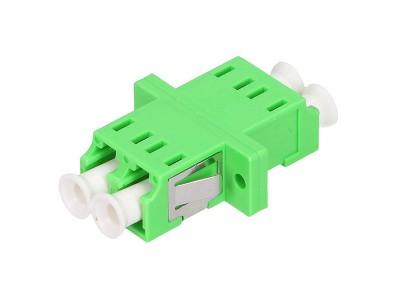 Оптический адаптер LC/LC, для полировки APC, дуплексный