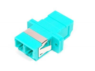 Оптический адаптер LC/LC, для полировки PC, дуплексный