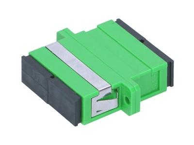 Оптический адаптер SC/SC, для полировки APC, дуплексный