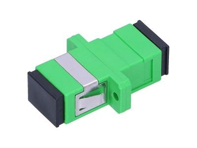 Оптический адаптер SC/SC, для полировки APC, симплексный