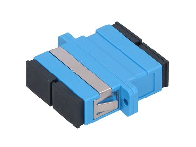 Оптический адаптер SC/SC, для полировки UPC, дуплексный