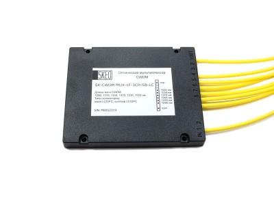 Оптический мультиплексор CWDM, 3 канала, 1 направление