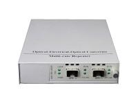 Медиаконвертер с 2 SFP+ слотами 10 Гбит/с