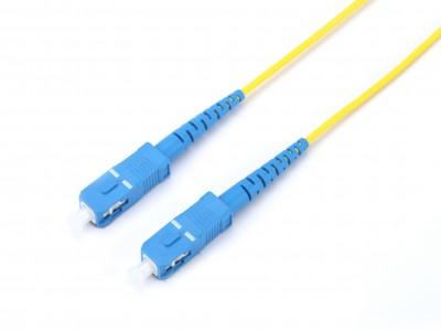 Оптический патчкорд SC/UPC - SC/UPC, симплексный, 1 метр