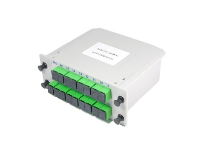 Сплиттерный модуль 1x16, 16x6,25%, SC/APC